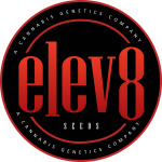 Elev8  Logo  Black  Backbroung